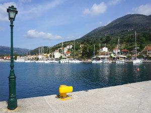 Agia Efimia haventje op Kefalonia