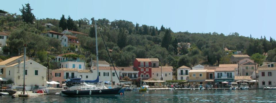 Paxos vakantie Loggos haven