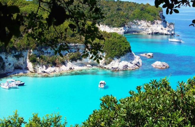 Voutoumi beach op Anti Paxos