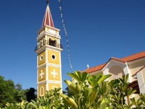 St Dennis kerk in Argassi Zakynthos