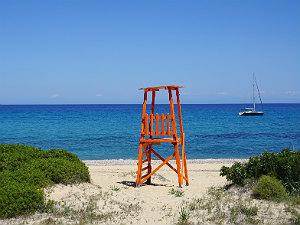 Skala duinen en strand op Kefalonia