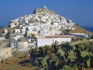 Astypalea Chora met fort