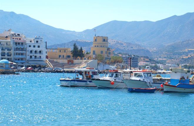 Karpathos stad vakantie