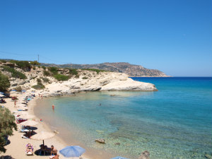 Karpathos stad Amopi beach