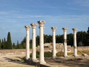 Asklepieion zuilen tempel