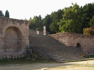 Asklepieion Kos trap naar tweede terras
