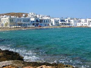 Naoussa op Paros tijdens vakantie