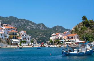 Kokkari vakantie op Samos in Griekenland