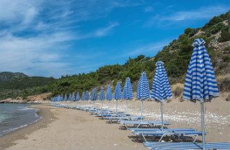 Psili Ammos beach op Samos