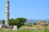 Heraion zuil op Samos