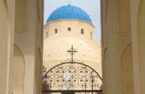 Perissa kerk Santorini