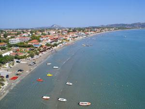 Laganas beach op Zakynthos