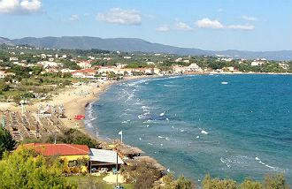 Tsilivi vakantie Zakynthos