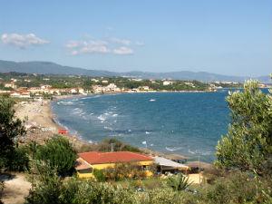 Tsilivi strand op Zakynthos