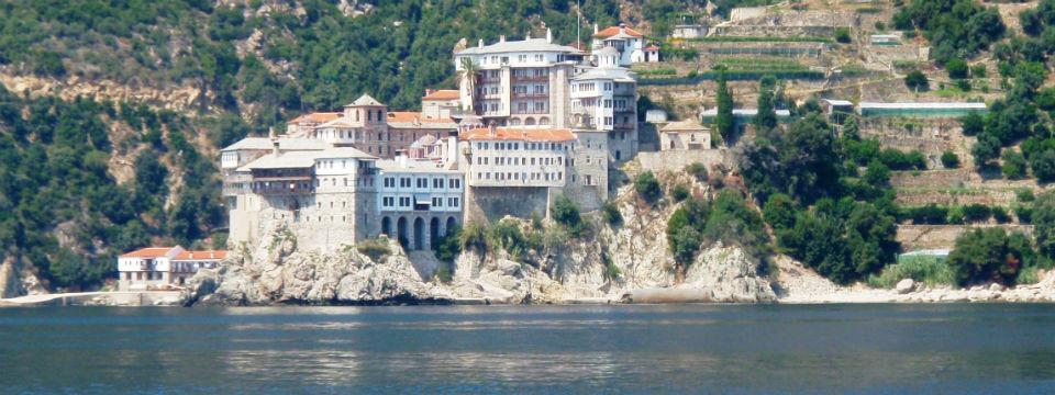 Chalkidiki vakantie mount athos Osios Grigorios Monastery header.jpg
