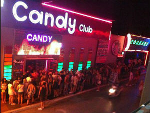 Candy Club in Malia op Kreta