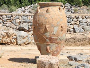 Minoïsch paleis van Malia vaas