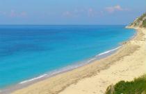 Pefkoulia beach bij Agios Nikitas