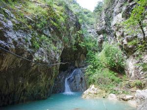 Watervallen bij Nidri