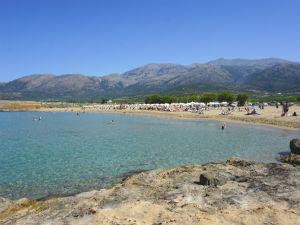 Malia vakantie Potamos beach