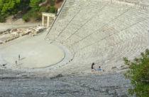 Epidaurus amfi theater overzicht