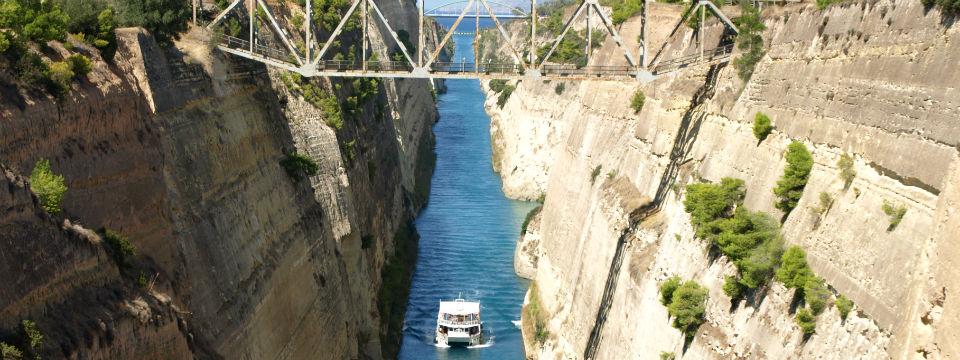 Peloponnesos vakantie Kanaal van Korinthe header.jpg