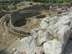 Graven van Cirkel A Mycenae