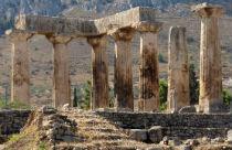 Oud Korinthe Peloponnesos