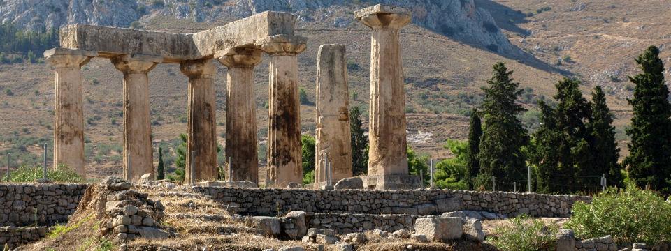 Peloponnesos vakantie Oud Korinthe header.jpg