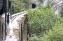 Diakofto Kalavrita railway spoor tunnel