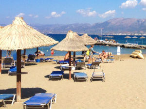 Strand van Stalis op Kreta