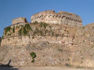 Oude Kastro van Chios stad