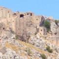 Anavatos op de berg op Chios