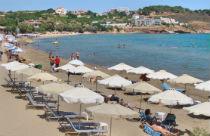 Karfas beach op Chios