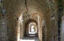 Straatje in Mesta op Chios