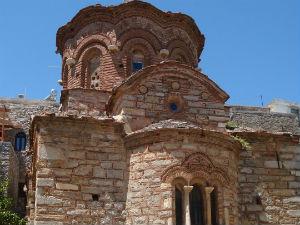 Agio Apostoli kerk in Pyrgi Chios