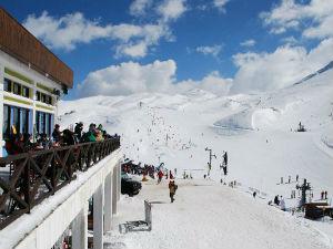 Skiën in Parnassos Griekenland