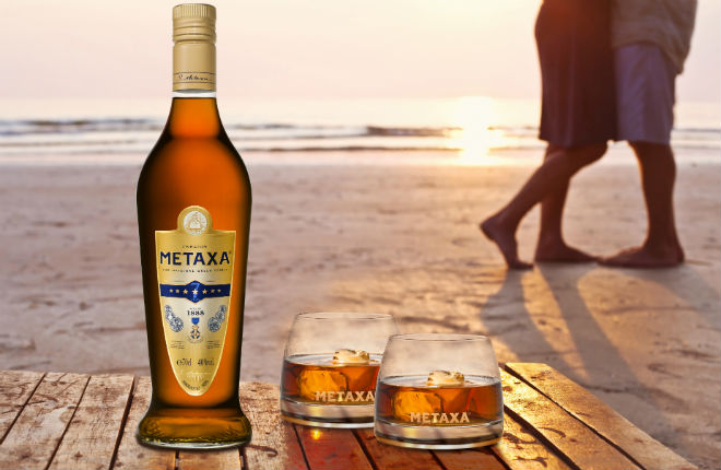 Metaxa the original Greek spirit