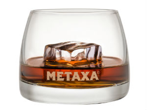 Metaxa the original Greek spirit glas