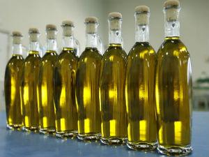 Griekse olijfolie in flessen uit Kreta