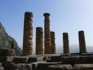 Tempel van Apollo in Delphi