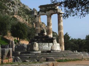 Tholos van Athena Pronaia in Delphi