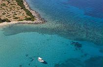 Petalioi eilanden Evia bij Marmari