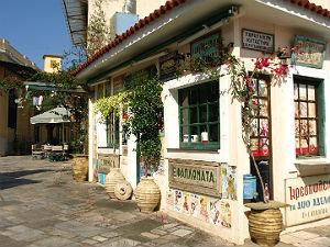 Kalamata het oude centrum Tzimis