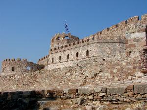 Het fort van Mytilini op Lesbos