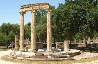 Olympia Griekenland op de Peloponnesos