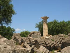 Olympia Griekenland Tempel van Zeus