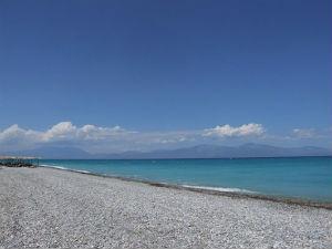 Sykia beach Xylokastro bij Daphne's Club