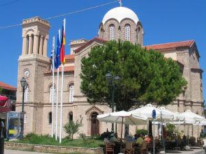 St. Vlasios kerk in Xylokastro