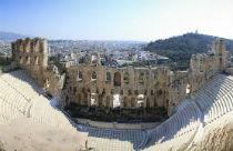 Herodeion theater op de Akropolis Athene